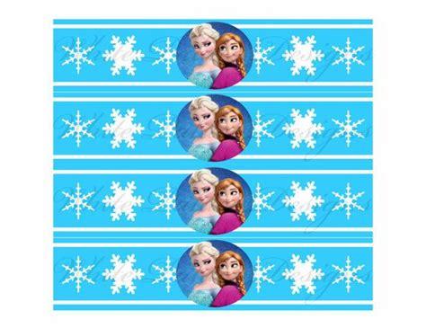 printable frozen drink labels frozen water bottle labels party invitations ideas