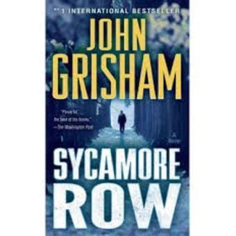 libro sycamore row sycamore row john grisham sinopsis y precio fnac