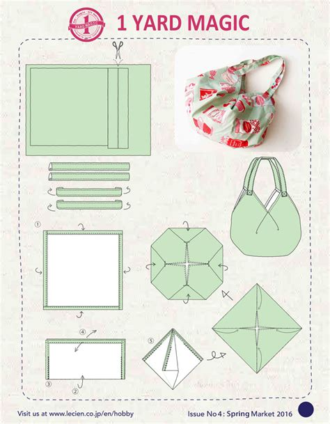 bags and suitcase pattern design software 1 yard magic hobo bag from lecien fabrics sewcanshe