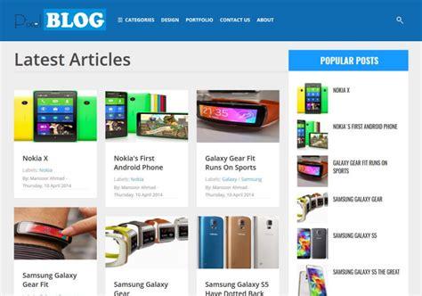Best Free Blogs Pixel Responsive Template 2014 Free