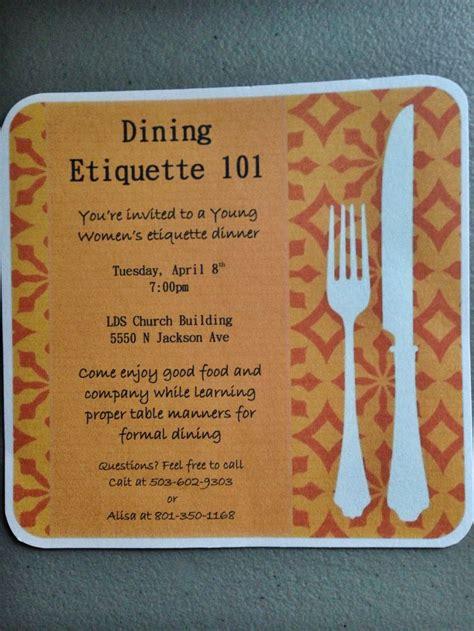 etiquette dinner best 25 etiquette dinner ideas on table