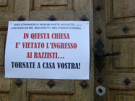 Allontanare Cani Che Fanno Cacca by Quot Niente Razzisti In Chiesa Tornate A Casa Vostra Quot Prete