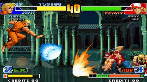 king of fighters apk the king of fighters 98 apk data patched familia lg
