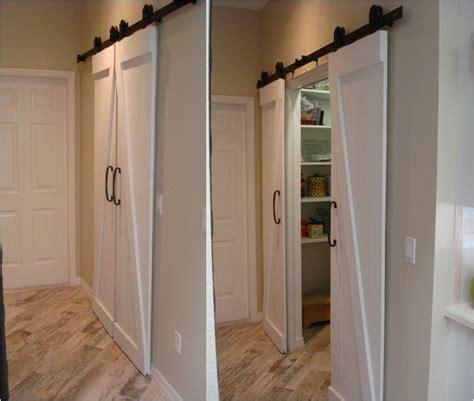 Replaced Obnoxious Bi Fold Doors With Barn Doors Used A Folding Barn Door