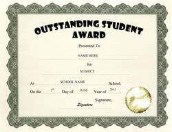 free student certificate templates student achievement certificate templates
