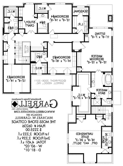 moss stone cottage house plan house plans by garrell stone cottage plans and photos