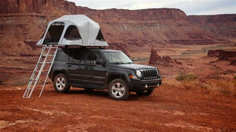 jeep roof top tent first impressions james baroud horizon vision roof top