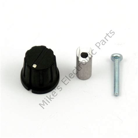 variable capacitor shaft extension standard extension and knob for variable capacitor mike s electronic parts