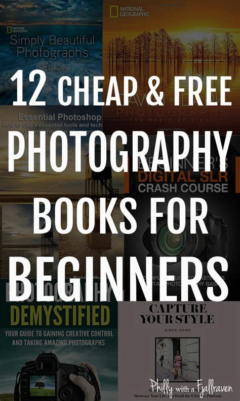 cheap books cheap and free photography books for beginners through