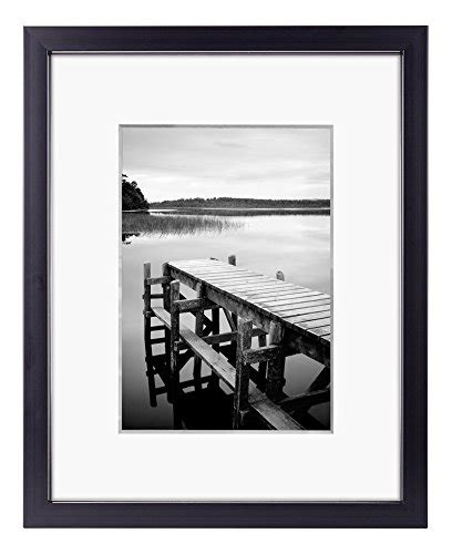 10 x 10 black frame with mat 8x10 black picture frame made to display pictures 5x7