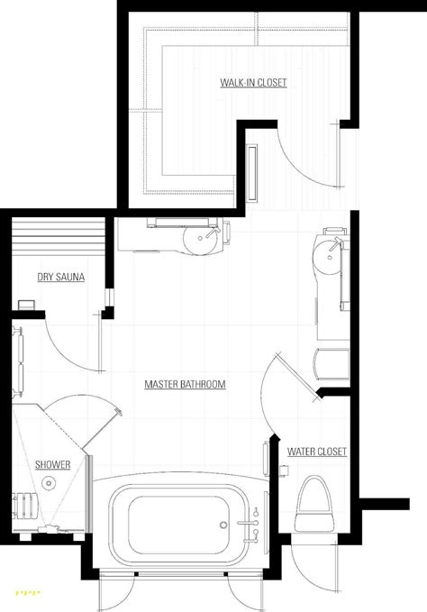 walk in shower floor plans master bath floor plans with walk in shower inspirational