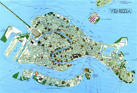 venice map tourist map venice venezia venise tourist map venice and italy