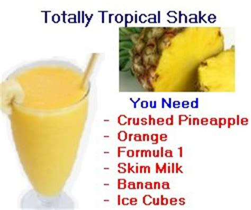 Shake Berry Milk Shake Herballife Asli Herbal Shake independent herbalife member tropical fruit smoothie recipes herbal energy
