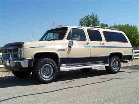 find used 1984 gmc chevy suburban 4x4 low original