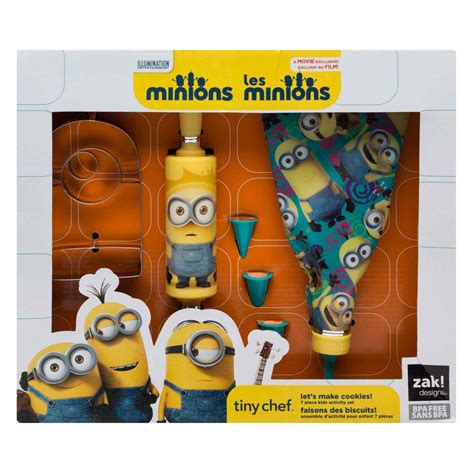 Set Minion tiny chef minions baking set for cookies for sale