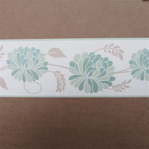 trail green wallpaper border self adhesive