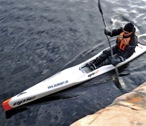 epic boats apparel boat review v7 by epic kayaks adventure kayak magazine
