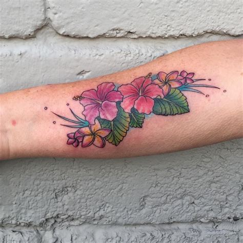 tropical flower tattoo designs flowers ideas for review