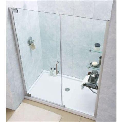 Dreamline Elegance 49 1 4 To 51 1 4 In X 72 In Semi Semi Framed Shower Door