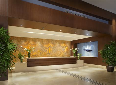 Hotel Lobby Reception Desk Trend Millwork Inc