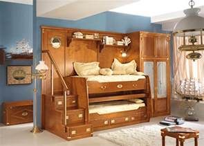 Coolest Bedroom Furniture Great Sea Themed Furniture For Girls And Boys Bedrooms By