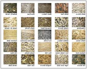 granite color names granite colors and names home design ideas