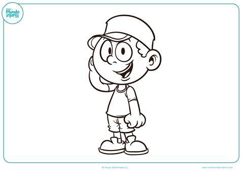 dibujos para colorear y imprimir para ni os dibujos de ni 241 os y ni 241 as para colorear mundo primaria