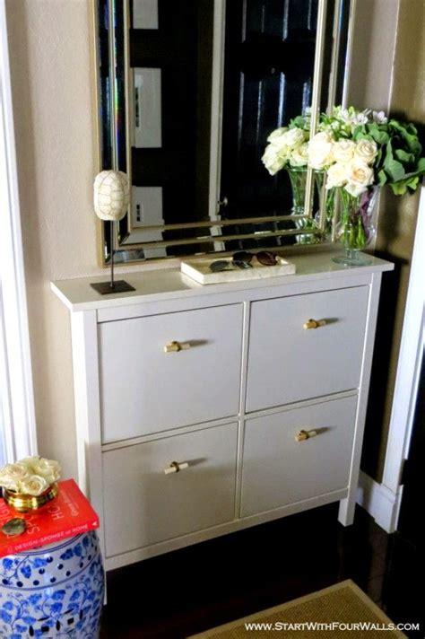 ikea stall shoe cabinet hack szafka na buty ikea hemnes wyb 243 r korytarzach wewn苹trznych