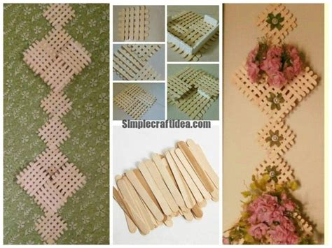 How To Make Handmade Wall Hangings - sticks wall hanging simple craft ideas