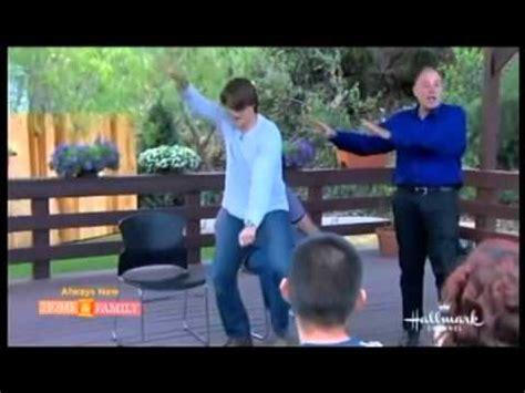 hypnotist tom silver on home family tv show amazing