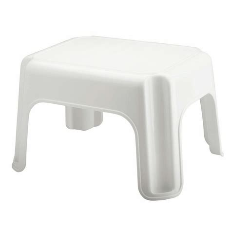 schemel plastik shop rubbermaid 1 step plastic step stool at lowes