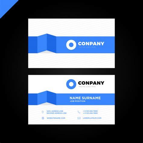 clean business card template ai modern creative and clean business card template vector