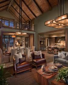 Modern Rustic Living Room Ideas by Rustic Design Ideas Canadian Log Homes