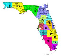 florida school district map foa district alignment map florida orchestra association