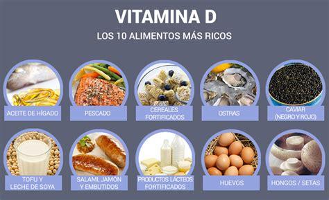 alimentos vitaminas d la importancia de la vitamina d