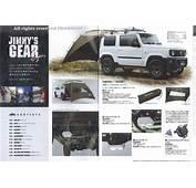 New Suzuki Jimny Accessories Brochure Scan
