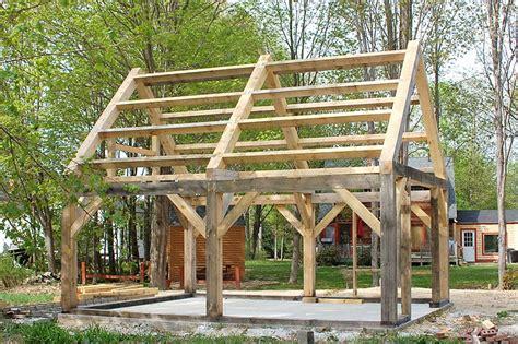timber frame plans   build diy