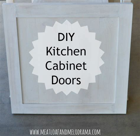 Diy Kitchen Cabinet Doors Meatloaf And Melodrama How We Built Our Kitchen Cabinet Doors