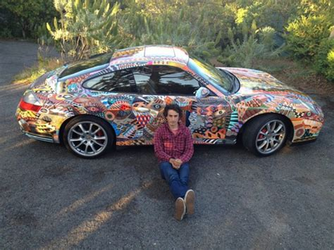 porsche custom paint zio ziegler turns a porsche into a mobile mural mill