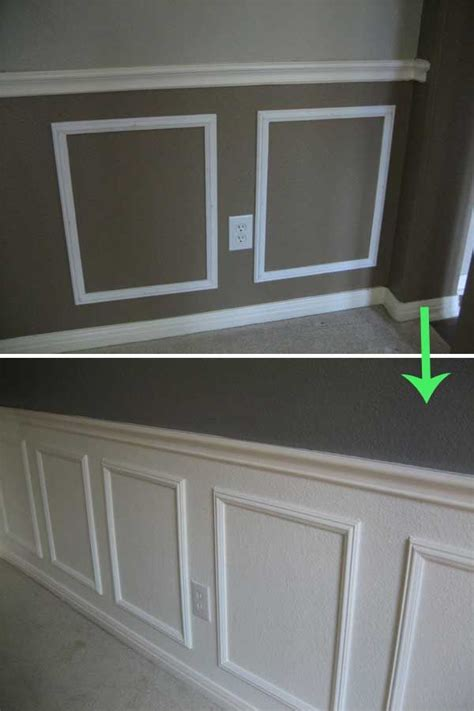 Cheap Wainscoting by 1000 Ideas About Budget Living Rooms On