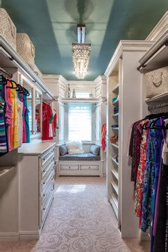 brighten up a closet with color by painting ceiling underseas from sherwin williams culture