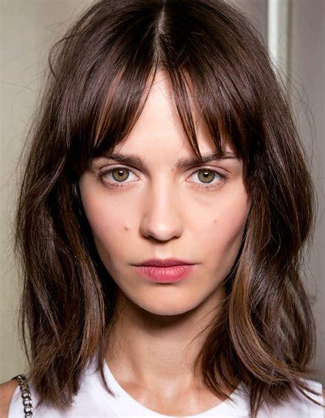 pictures of bangs shorter in the middle longer on sides cheveux 16 id 233 es de frange en images taaora blog