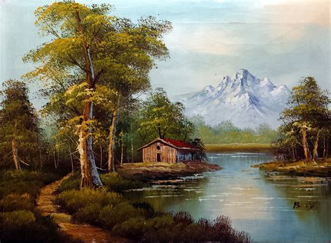 bob ross painting log cabins bob ross painting cabin by william tillis 183 june 4 2014