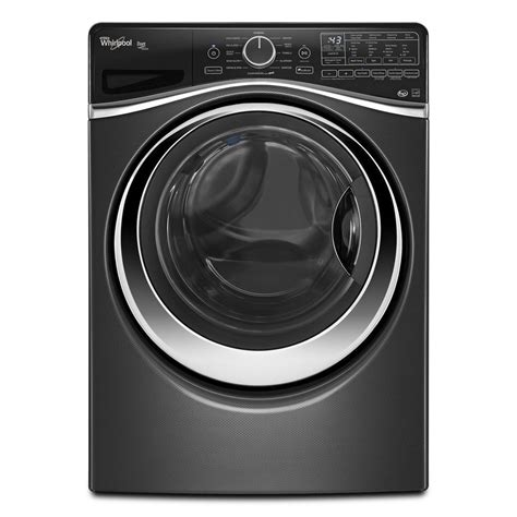 whirlpool front load washer shop whirlpool duet 4 5 cu ft high efficiency stackable front load washer with steam cycle