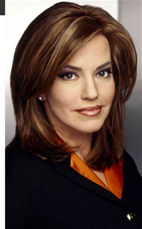 is robin meade in for a new hair style robin meade pictures