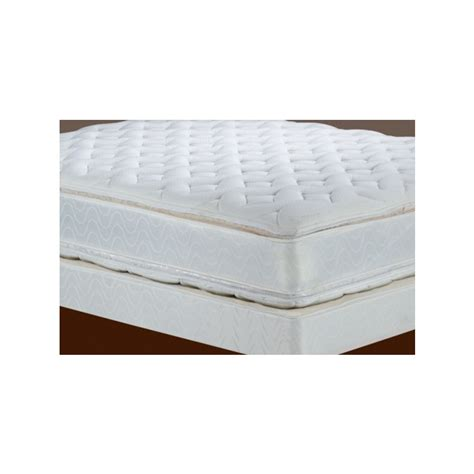 double bed pillow top double euro top mattress and boxspring queen pb 112