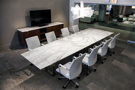 contemporary conference table ambience dor 233