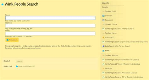 Six Search Engines You Can Use To Find Anyone 6 Search Engines You Can Use To Find Anyone
