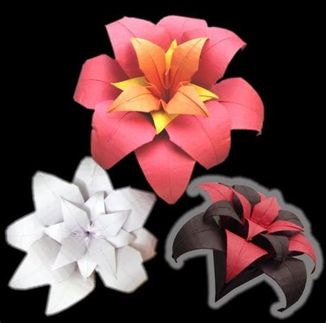 Origami Paper Flower Tutorial - 25 best ideas about origami flowers on paper