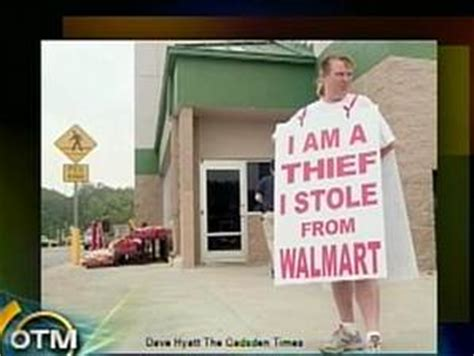 Modern Day Scarlet Letter Exles by Shame And Shoplifting At Wal Mart Business Us Business